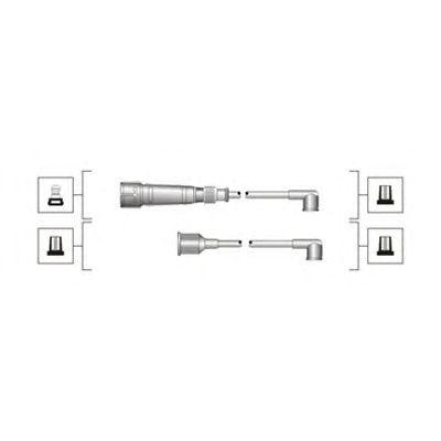 Комплект высоковольтных проводов MAGNETI MARELLI 941319170114