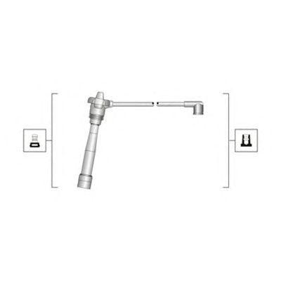 Комплект высоковольтных проводов MAGNETI MARELLI 941319170115