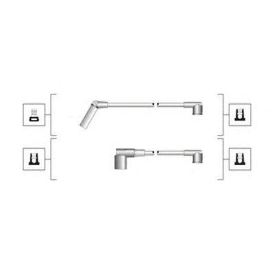 Комплект высоковольтных проводов MAGNETI MARELLI 941319170117