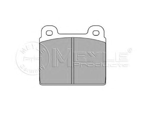 Тормозные колодки MEYLE 025 200 1115