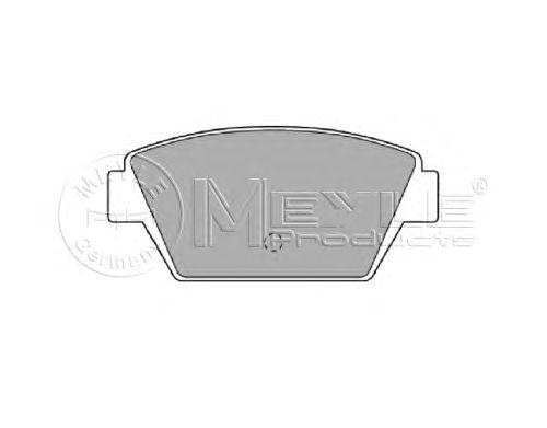 Тормозные колодки MEYLE 025 211 2514