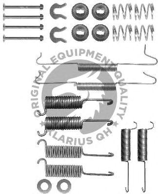 Монтажный комплект тормозных колодок QH International BFK227