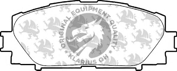 Тормозные колодки QH International BP1586