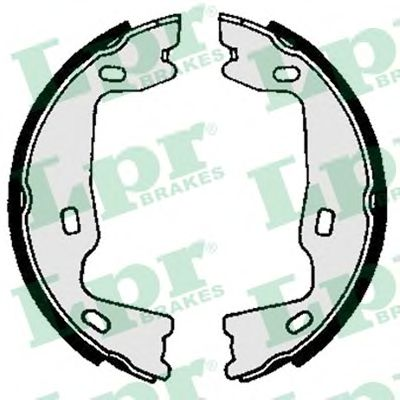 Тормозные колодки ручника LPR 02570