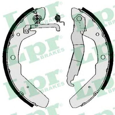 Тормозные колодки LPR 03970