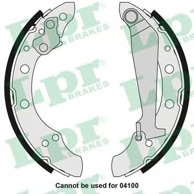 Тормозные колодки LPR 05730