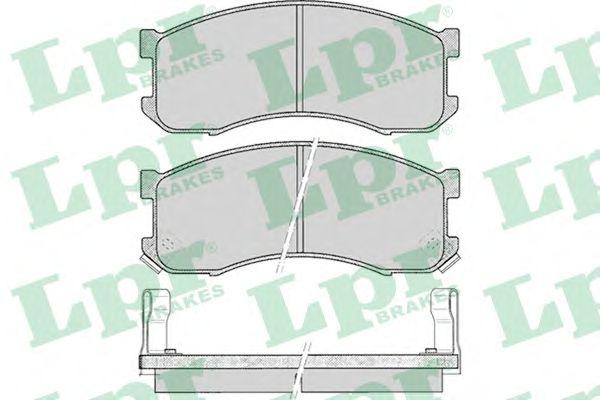Тормозные колодки LPR 05P041