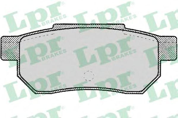 Тормозные колодки LPR 05P072