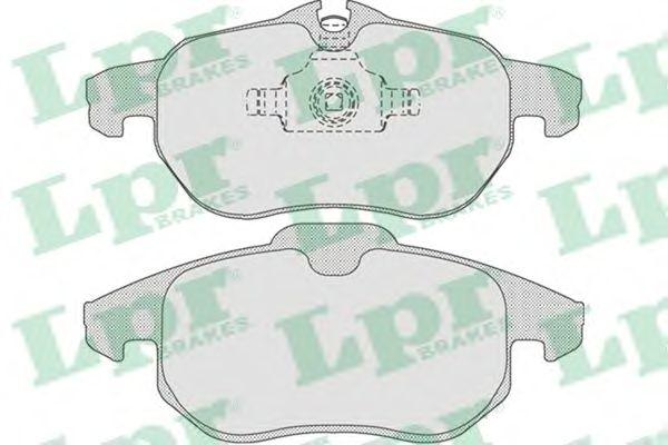 Тормозные колодки LPR 05P1216