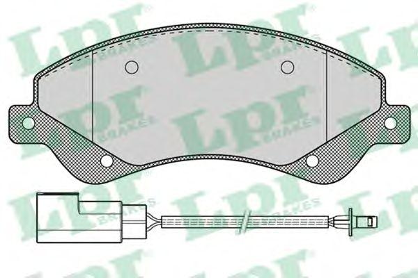 Тормозные колодки LPR 05P1259