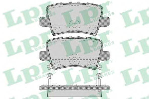 Тормозные колодки LPR 05P1273