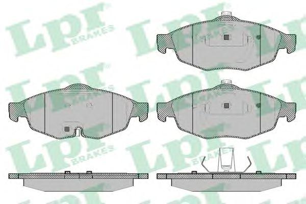 Тормозные колодки LPR 05P1356