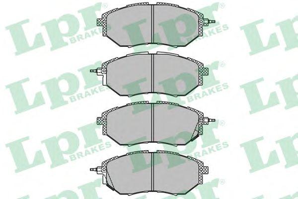 Тормозные колодки LPR 05P1402