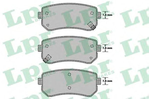 Тормозные колодки LPR 05P1411