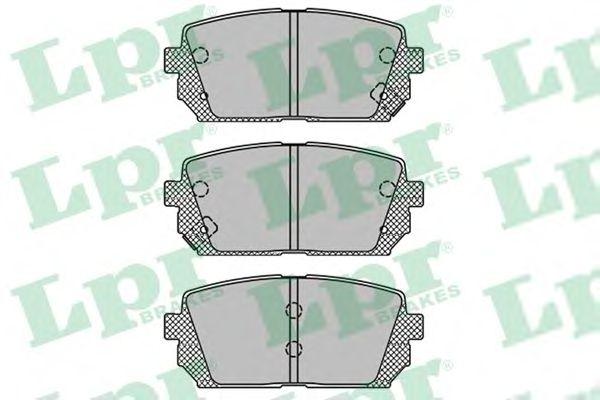 Тормозные колодки LPR 05P1416