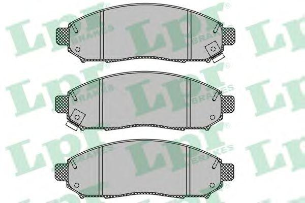 Тормозные колодки LPR 05P1495