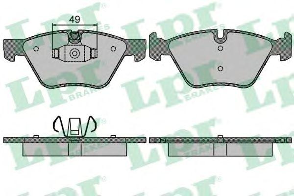 Тормозные колодки LPR 05P1511