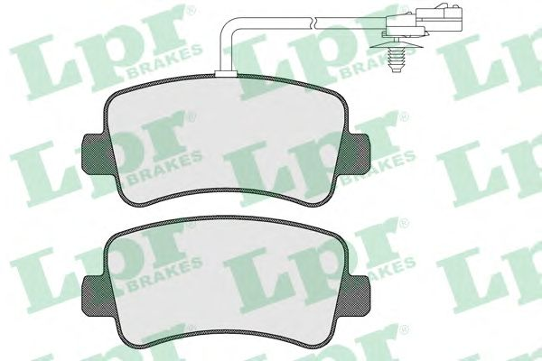 Тормозные колодки LPR 05P1578