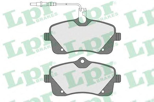 Тормозные колодки LPR 05P1601