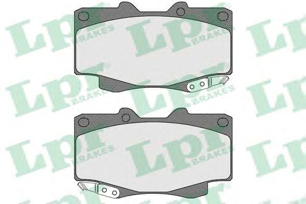 Тормозные колодки LPR 05P1610