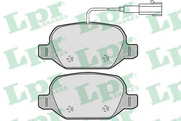 Тормозные колодки LPR 05P1661