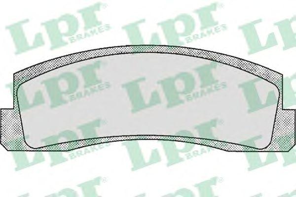 Тормозные колодки LPR 05P179
