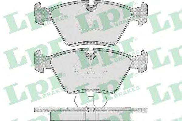 Тормозные колодки LPR 05P193