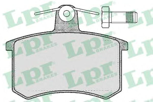 Тормозные колодки LPR 05P215