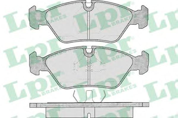 Тормозные колодки LPR 05P237
