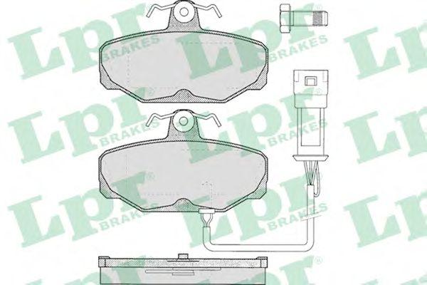 Тормозные колодки LPR 05P279