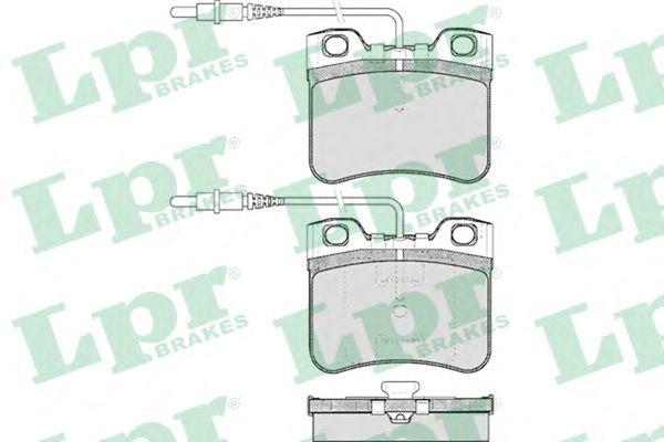 Тормозные колодки LPR 05P283