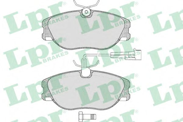 Тормозные колодки LPR 05P286