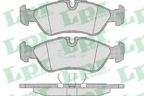 Тормозные колодки LPR 05P304
