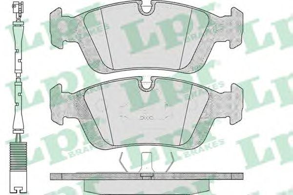 Тормозные колодки LPR 05P331A