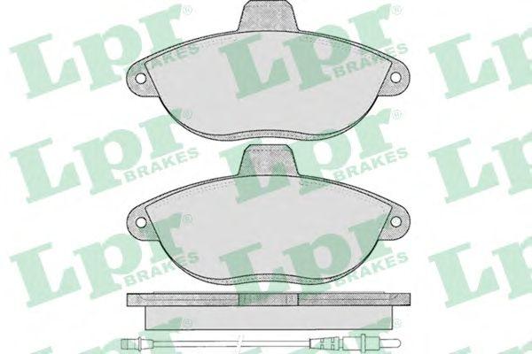 Тормозные колодки LPR 05P346