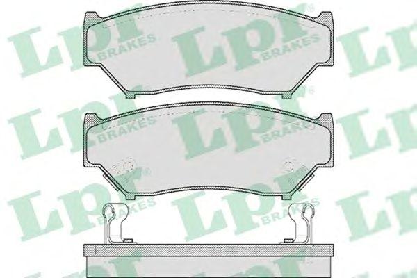 Тормозные колодки LPR 05P396