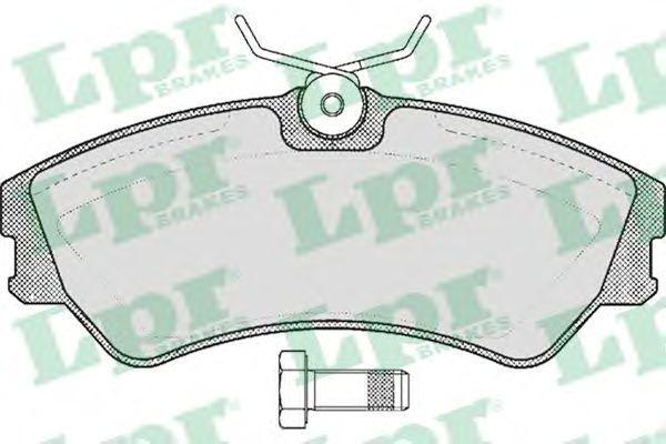 Тормозные колодки LPR 05P439