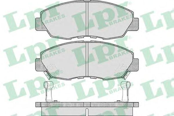 Тормозные колодки LPR 05P566