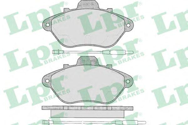 Тормозные колодки LPR 05P583