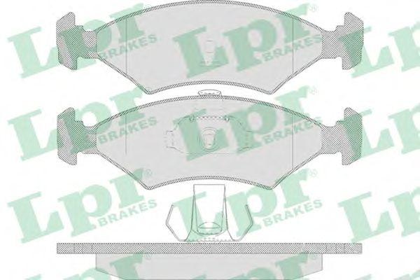 Тормозные колодки LPR 05P628