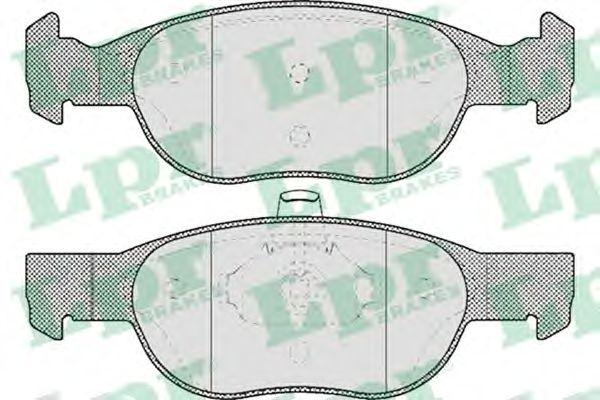 Тормозные колодки LPR 05P688