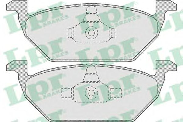 Тормозные колодки LPR 05P730