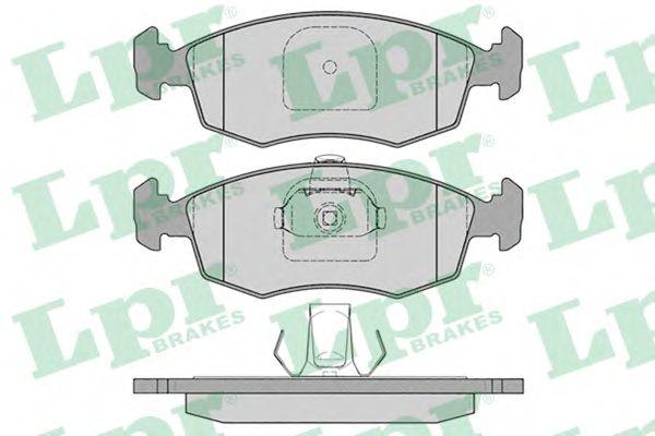 Тормозные колодки LPR 05P785
