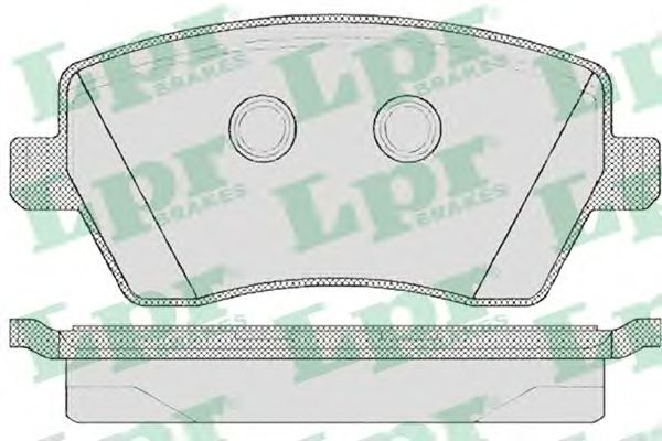 Тормозные колодки LPR 05P867