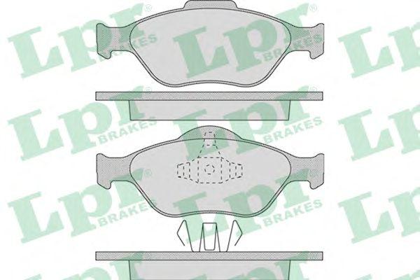 Тормозные колодки LPR 05P949