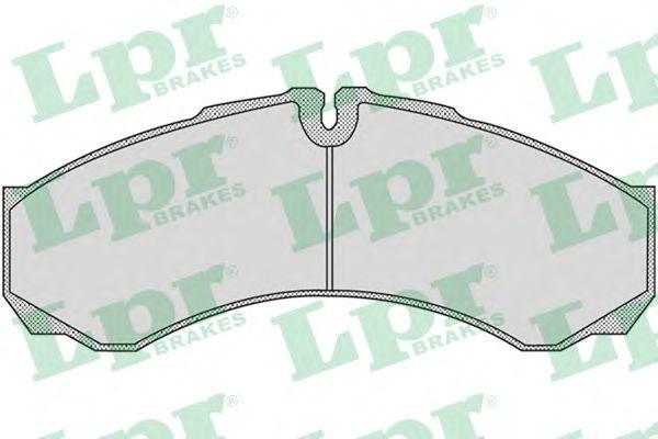 Тормозные колодки LPR 05P955