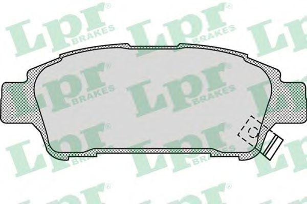 Тормозные колодки LPR 05P996