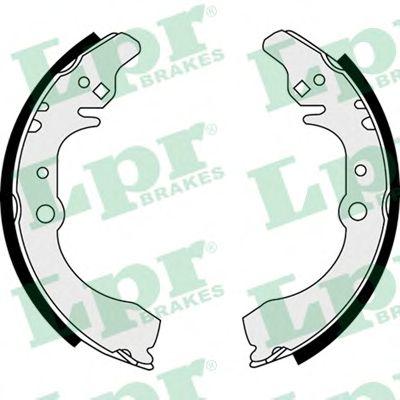 Тормозные колодки LPR 07880
