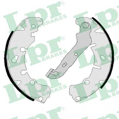 Тормозные колодки LPR 08170