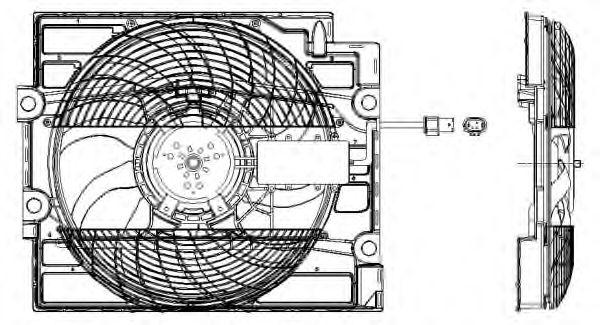 Вентилятор охлаждения NRF 47211